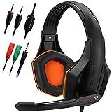 Gaming Headset, DLAND 3.5mm hanno fissato Bass isolamento Stereo rumore di gioco delle cuffie con microfono per il computer...