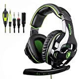 SADES SA810 Cuffie Gaming 3.5 mm Wired Over Ear Xbox one Cuffie con microfono Noise Cancelling Headphones per PS4 Xbox one PC...