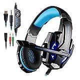 KOTION EACH GS900 Cuffie da Gaming per XBOX 360 PS3 PS4 Xbox one, AFUNTA Multifunzione Playstation 4 Cuffie con Microfono...