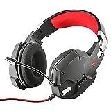 Trust Cuffie Gaming GXT 322 Carus con Microfono Flessibile, 3.5 mm Jack, Filo, Over Ear, Controllo del Volume ed Esclusione Audio...