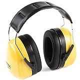 PRETEX Otoprotettore professionale, cuffie di protezione antirumore per suoni fino a 98DB, comfort elevato, peso ridotto e...