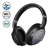 Mpow H21 Cuffie Cancellazione Attiva Rumore Ibrida, Cuffie Bluetooth 5.0, Autonomia 40 Ore, Cuffie Wireless Over Ear, CVC 6.0 e...