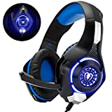 Cuffie Gaming con Microfono Cuffie Bass Stereo per PS4 PS5 Cuffie Xbox One Cancellazione del Rumore Controllo Volume per PC Mac...