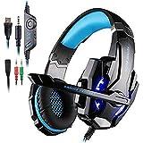 AFUNTA KOTION Each GS900 Cuffie da Gaming per Xbox 360 PS3 PS4 Xbox One, Multifunzione Playstation 4 Cuffie con Microfono...