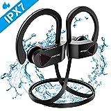 Mpow Cuffie Bluetooth D1, Cuffie Bluetooth V4.1 Impermeabili IPX7, Auricolari Sportivi Wireless A2DP, Auricolari Stereo Hi-Fi con...