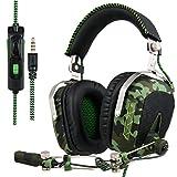 SADES SA926T aggiornato PS4 Cuffie Gaming Headset stereo per Xbox One Cuffie da gioco Cuffie over-ear con microfono per PS4 / Xbox...