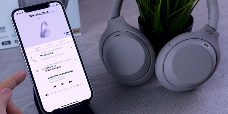 sony cuffie noise cancelling